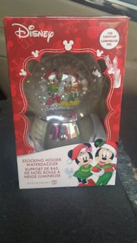 Mickey mouse  and cinderella snow globe
