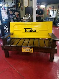 Tonka truck tailgate bench. Murrieta  Murrieta, 92562