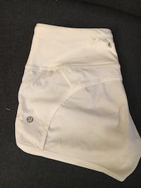 Lululemon Size 2 white shorts in excellent condition like new Langley, V2Y 2Y4