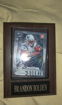 Signed Sports Card/Plaque