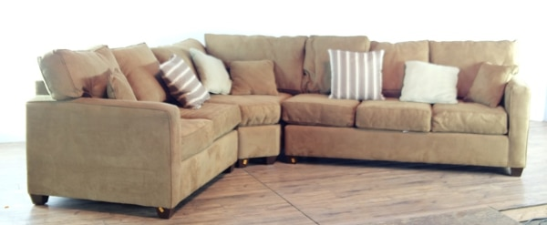 Sensational Pottery Barn Contemporary Upholstered Sectional Sofa 1018928 Theyellowbook Wood Chair Design Ideas Theyellowbookinfo
