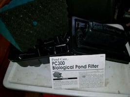 Small pond biological filter