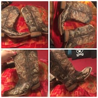Circle G Cowgirl Boots. Size 9 Colusa, 95932