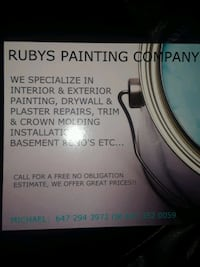 INTERIOR AND EXTERIOR PAINTING Toronto, M1E 4L5