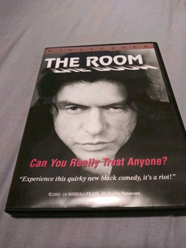 The Room DVD Tommy Wiseau
