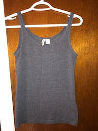 Divided basic Tanktop- deep blue color Calgary, T2X 1H6