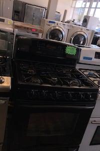 GE gas stove and electric oven excellent conditions