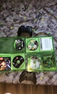 Xbox one controllers and games Mississauga, L5R
