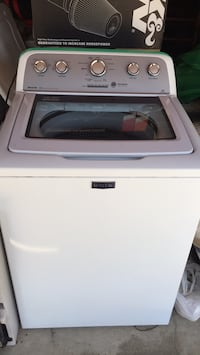white top-load clothes washer Burbank, 91505