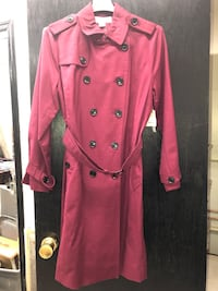 pink button-up coat Washington, 20024