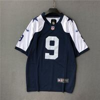 NIKE NFL ON FIELD FOOTBALL RUGBY ROMO JERSEY IN NA