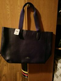 black leather tote bag with wallet Medicine Hat, T1B 4B7
