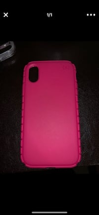 Speak pink iPhone X case  Arlington, 22204