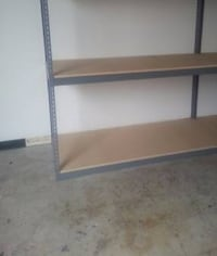 Warehouse Shelving 72 in W x 30 D Garage Box Boltless Storage Racking Duarte