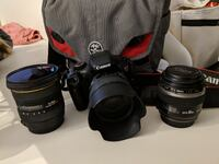 Canon T2i + Lens package - Perfect for beginners! Mississauga