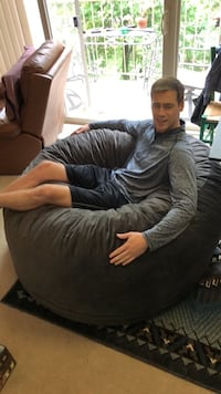 Bean bag chair - grey Alexandria, 22314