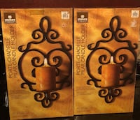 Candle holders to put on the wall  Laval, H7T 2L3