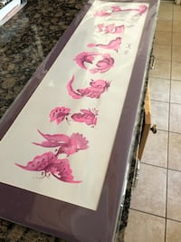 """Hand painted sign """"  Nicole """" Toms River, 08753"""