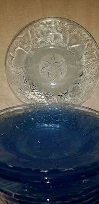 4 Vintage Glass Bowls Moore, 73160
