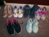 Girls shoes sz. 2-4.5 .. Prices Vary