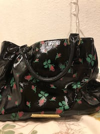black and green floral tote bag Los Angeles, 90011