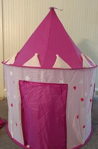 Pink Castle Tent - Over 4ft tall Plymouth