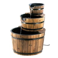 brown and black wooden barrel Chicago