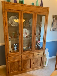 China Cabinet and Dining set. Mount Airy, 21771