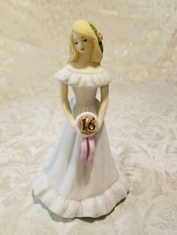 Growing Up Birthday Girl Blonde By Enesco 1981 Silver Spring, 20905