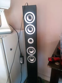 black and gray tower speaker Edmonton, T5A