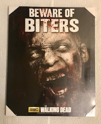 Walking Dead LED Canvas