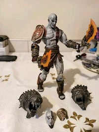Neca God Of War 3 Ultimate Kratos action figure