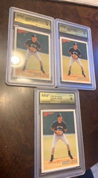 Derek jeter rookie baseball cards ($60 each) Farmingdale, 11735