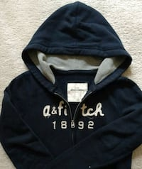 Abercrombie and Fitch girls hoodie jackets sz L Bellevue, 98004