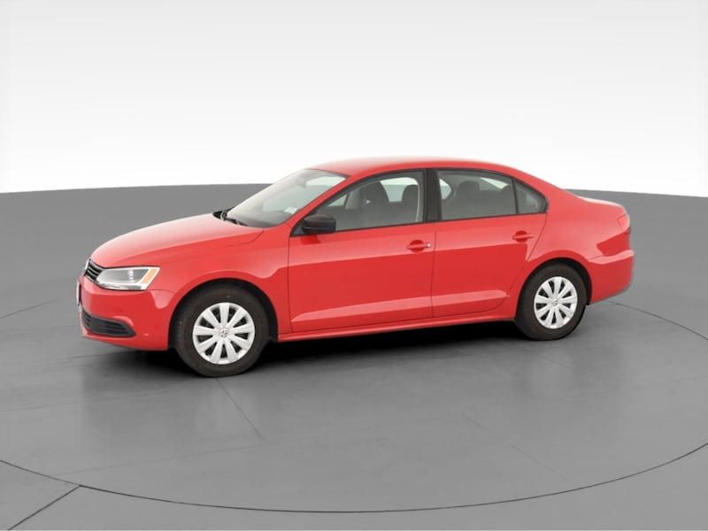 2014 VW Volkswagen Jetta sedan 2.0L Base Sedan 4D Red  9f0c480a-c38e-496e-9818-b6f4f4d2f68d