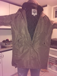 brown full button hoodie jacket Gatineau, J8T 3H7