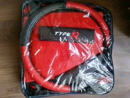 Car seat cover leather type.regular size