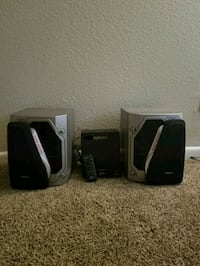two black and gray speakers Wichita, 67203