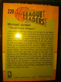basketball card.michael jordan 1991 fleer Melbourne, 32904