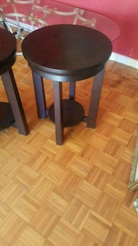 two cherry wood tables Toronto, M1S 2V8