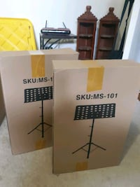 Music stands. Two available. $25 each Silver Spring, 20906