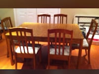 Dining table and hutch , can be sold together or separately . Vaughan, L4L 8J8