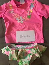 Cutest little girl bathing suit - 18 months Columbia, 21044