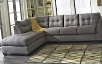 Tufted gray sectional brand new Indianapolis, 46240