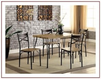 ATTRACTIVE 5 PC. DINING TABLE SET San Diego