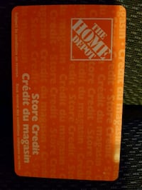 Home.depot card 1030$ for 750$