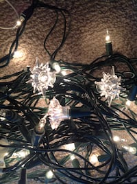 30 Snowflake or star covers for your mini Lights Brantford, N3R