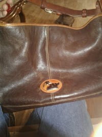 brown leather hobo bag Amarillo