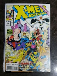 X-Men Adventures MARVEL comic book