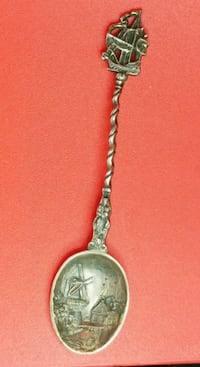 Handcrafted decorative SP spoon Montreal, H4L 2V5
